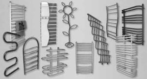 Образцы полотенцесушителей