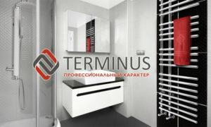 Полотенцесушитель Терминус в ванной