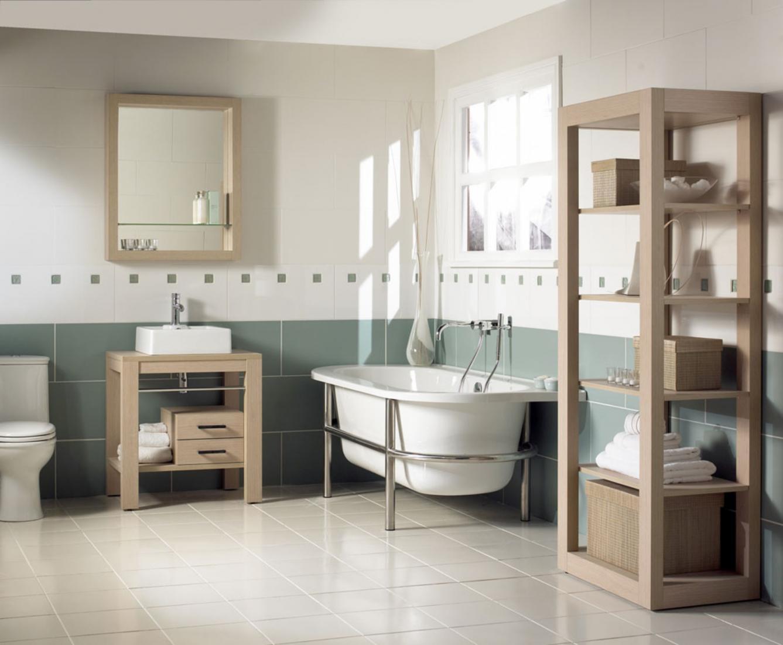 как выбрать современную мебель для ванной комнаты из массива дерева