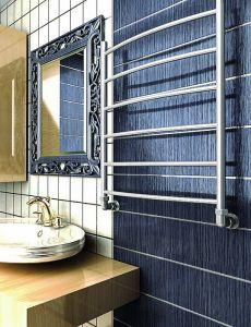 Стильный полотенцесушитель водяной размером 400 х 600