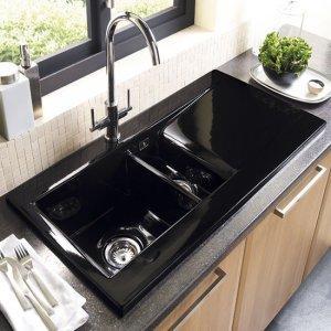 Двойная кухонная раковина