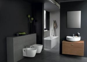 Ванная комната с набором Ideal Standard и раковиной Connect Arc E6833