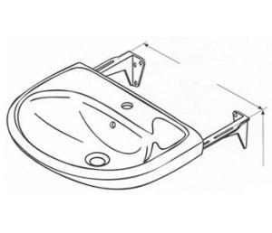 Элементарная схема крепежа