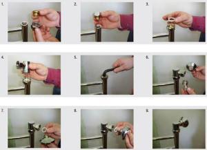 Наглядная схема подключения полотенцесушителя