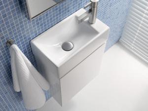 Туалетная раковина с полутумбой