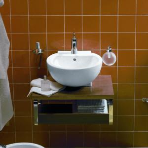 Фото маленькой раковины в ванную комнату